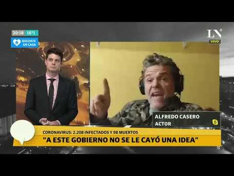 Alfredo Casero en el programa deTerapia de noticias