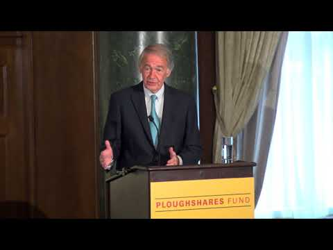 Senator Ed Markey at Nuclear Weapons Policy in a Time of Crisis 10/26/2017
