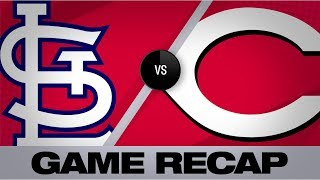 Gray, Reds 2-hit Cards in 2-1 win | Cardinals-Reds Game Highlights 8/15/19