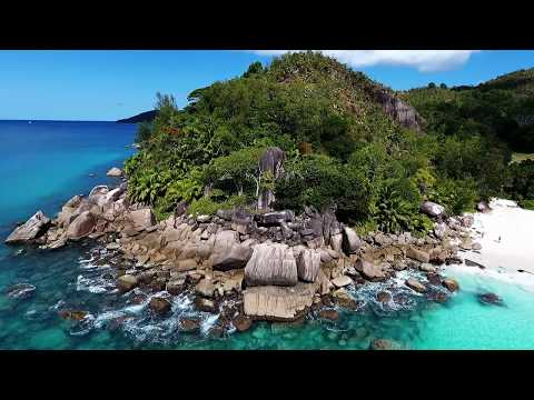 Seychelles  Anse Georgette La Digue ,Praslin   Drone DJI Phantom DJI Osmo 4K  03.12.2017