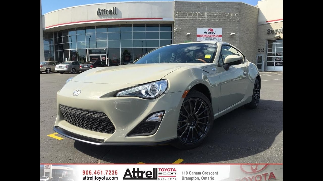 2016 scion frs release series 2 0 review toronto on youtube. Black Bedroom Furniture Sets. Home Design Ideas