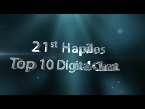 21st HAPILOS TOP 10 DIGITAL CHART (THE RELEASE S4 E11)