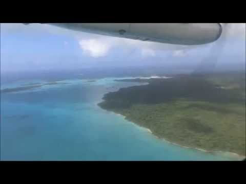 Air Calédonie ATR 42-500 Landing In Isle Of Pines (New Caledonia)