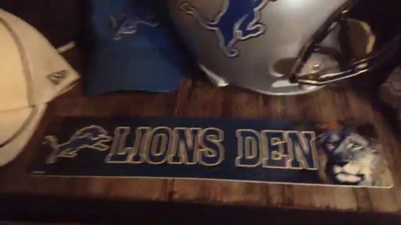 Detroit Lions Man Cave Ideas : Best man cave dreams images home ideas cool