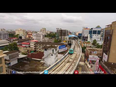 Kochi's own Metro at MG Road