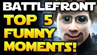 star wars battlefront top 5 funny moments and glitches twin boba fett and suicidal homing shot