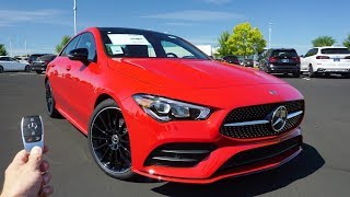 2020 Mercedes-Benz CLA 250: Start Up, Test Drive, Walkaround and Review