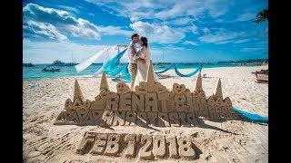 Свадьба за границей. на Боракае Филиппины