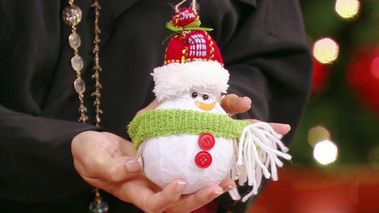 C mo hacer arreglos para tu rbol de navidad youtube for Como hacer arreglos de navidad