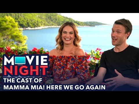 Movie Night: The Cast of Mamma Mia! Here We Go Again