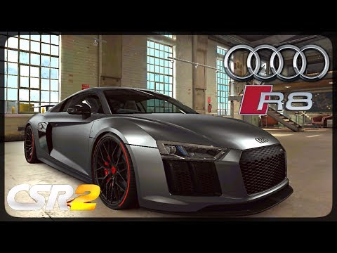 CSR Racing 2 - Audi R8 Vorsteiner delivery and live races - Milestone prize