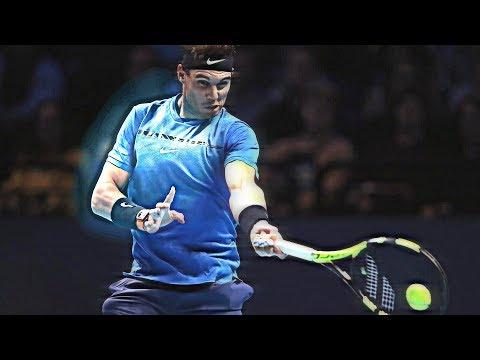Rafael Nadal - Master of running forehand