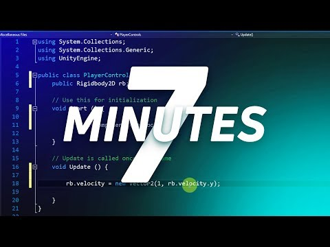 How To Build A Basic Android Game In Just 7 Minutes Unity Youtube