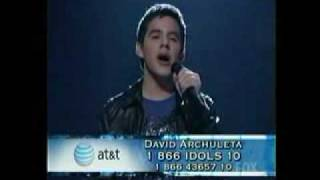 david archuleta - imagine - american idol week 2