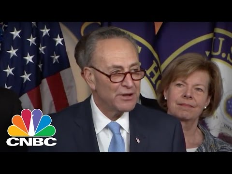 Senator Chuck Schumer: First Fight Will Be Over Health Care | CNBC