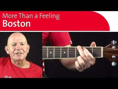 More Than A Feeling  - Simple 4 Chord Strumming Pattern