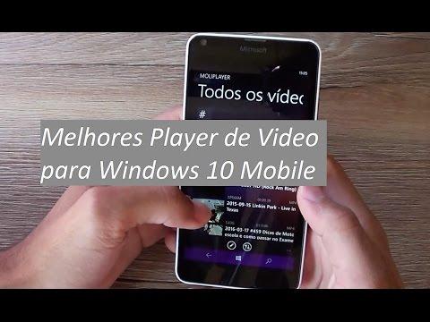 Melhores Player De Vídeo Para Windows Phone 8.1 E 10 - Lumia 640