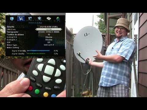 How to Setup & Scan your FTA Free to Air Satellite System