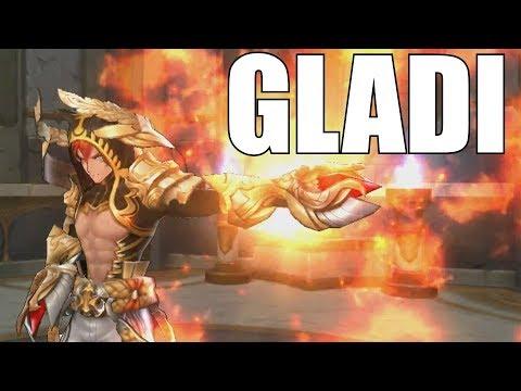 Kings Raid - Got Gladi... Finally Got Gladi (+ His UW)
