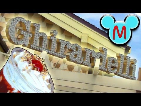 Ghirardelli Ice Cream & Chocolate Shop Tour at Disney Springs