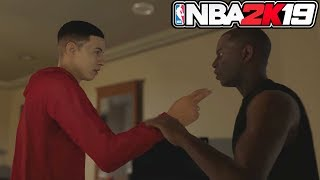 NBA 2k19 MyCAREER Trailer! FIGHTING RIVAL, My GF, MyCOURT! EVERYTHING YOU MISSED(NBA 2k19 My Career)