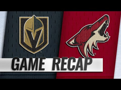 Pacioretty leads Golden Knights to 3-2 OT win
