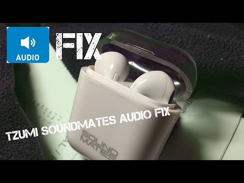 Tzumi SoundMates Audio Fix (if only one earbud plays music