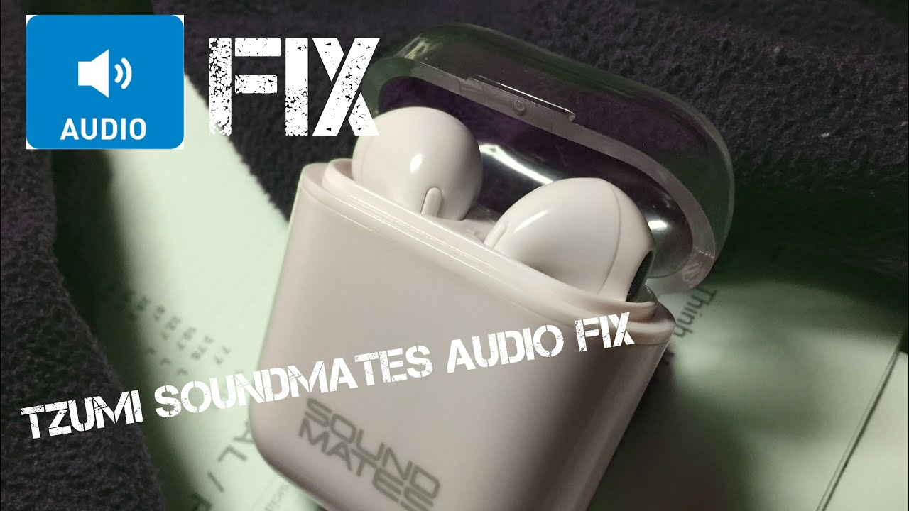 3390e83aa68 Tzumi SoundMates Audio Fix (if only one earbud plays music) by ac3 long