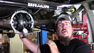 GM 8.5 10 bolt gear setup and final assembly