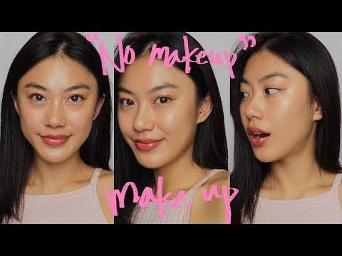 'No Makeup' makeup look (using Korean products)   Haley Kim thumbnail