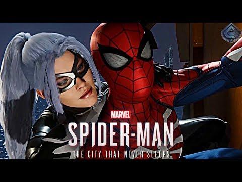 Spider-Man PS4 - New Black Cat DLC Gameplay!