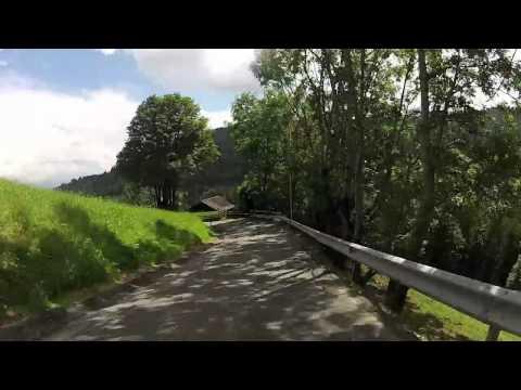 Motortrip on 2009 Vmax in Italy, circling the mountains between Bolzano & Merano