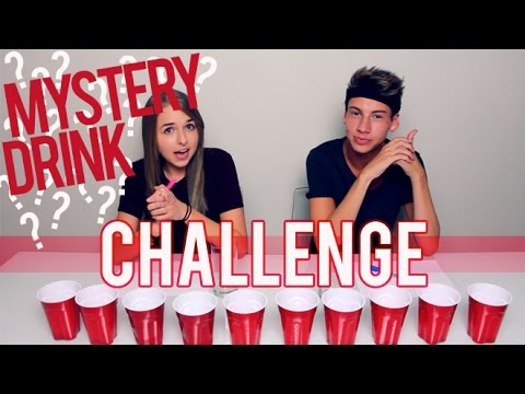 MYSTERY DRINK CHALLENGE!