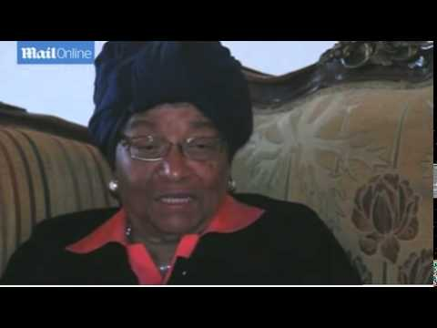 Liberian leader sees signs Ebola in...