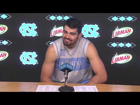 UNC Men's Basketball: Luke Maye pre-Sweet 16 Press Conference