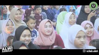 gema shalawat dan tausiah Habib Alwi Assegaf kampung cikeas