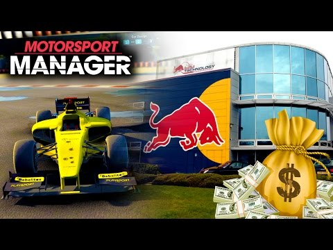 NEW HQ IS BUILT & AN ENERGY DRINK MONEY DEAL! | Motorsport Manager PC