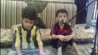 اطفال سعوديين يعزفون على الاورق لايفوتكم