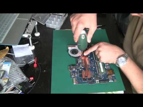 Разборка и сборка Dell Inspiron 3537 (Inspiron 15). Disassembly and fan cleaning Dell Inspiron 3537
