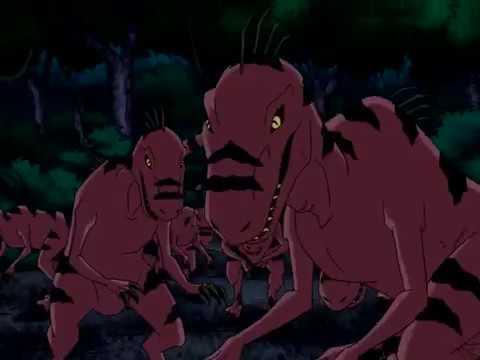 Beast Boy Speaking In Dino Language Youtube