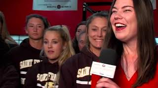 Riekes Interview with Saint Francis Softball 041419