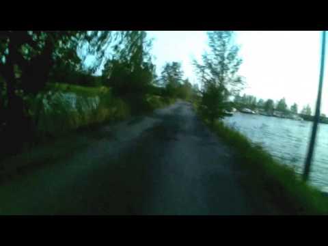 "Casual bicycle ride vaasa ""seaside"""