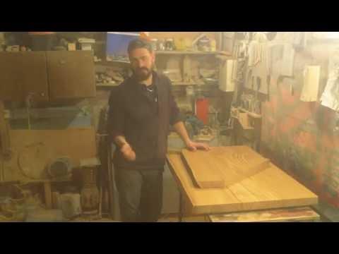 видео: Как сделать полку из массива