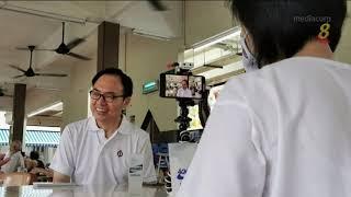 【新加坡大选】连荣华承诺若当选 将继续在国会为居民发声争取福利