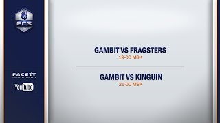 BETSCSGO.NET @GambitEsports vs @teamkinguin BO2 @Anishared | @ECS Season 4 EU Dev. League