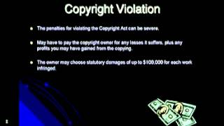 Copyright Powerpoint   Video