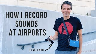 LOM USI PRO REAL WORLD TEST WITH ZOOM F8n #FieldRecording #Audio