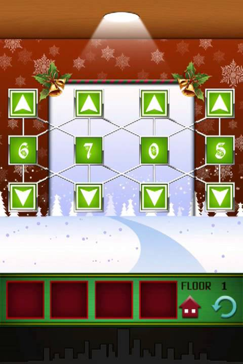 100 Floors Level 1 Seasons Tower Christmas Special Walkthrough Solution Floor 1 100 Floors Youtube
