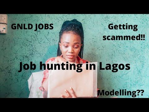Job hunting in Lagos Nigeria|| getting scammed? || job recruitment site