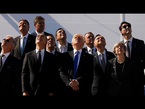 Trump verweigert NATO-Artikel 5 Referenz